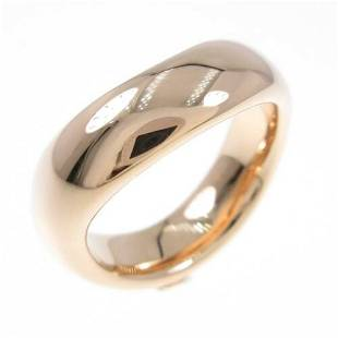 Authentic Pomellato 750 Pink Gold ring