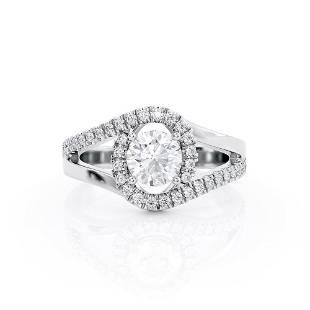 Diamond Ring .5 Ct TCW Gold 8K 2.50 g