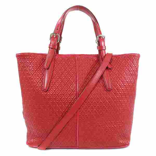 Authentic Tod's 2WAY Tote Bag Leather Ladies
