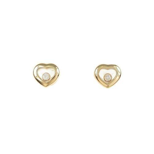 Authentic Chopard Heart Diamond Earrings
