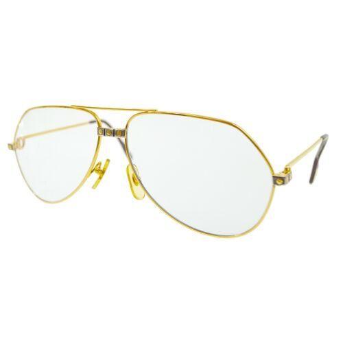Authentic Cartier Logos Reading Glasses Sunglasses Eye