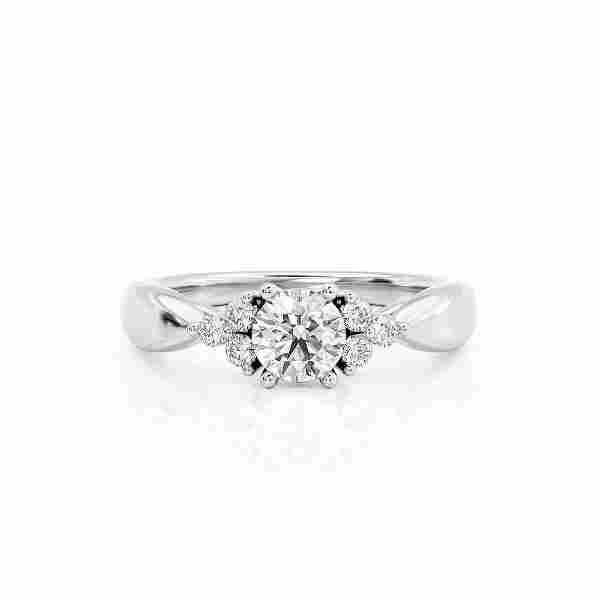 Diamond Ring Ct TCW Gold 8K 2.30 g