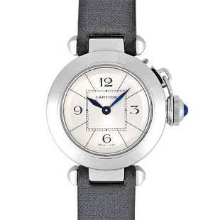 Authentic Cartier Stainless Steel Ladies Watch Quartz