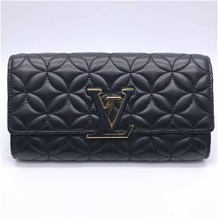 Authentic Louis Vuitton Portofeuil Capsine Women's