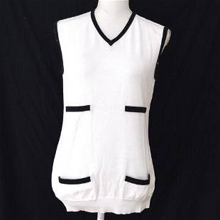 Authentic CHANEL Sleeveless Tops