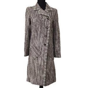 Authentic CHANEL Long Sleeve Coat Jacket