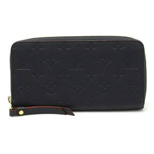 Authentic LOUIS VUITTON Monogram Empreinte Zippy Wallet
