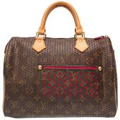 Authentic Louis Vuitton Monogram Perfo Speedy 30 M95182