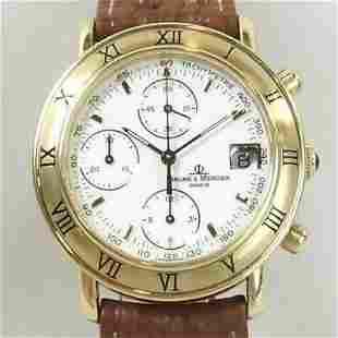 Authentic Baume & Mercier Bomatic Chronograph 86104