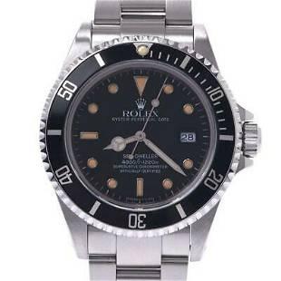 Authentic Rolex Sea Dweller Tritium 16600 Automatic