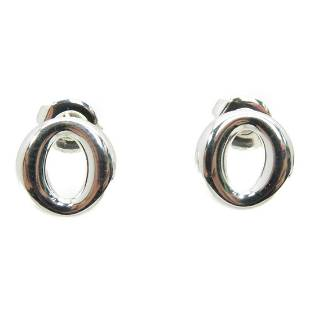 Authentic TIFFANY&CO Earrings Silver