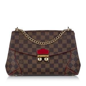 Authentic Louis Vuitton Damier Ebene Caissa Chain