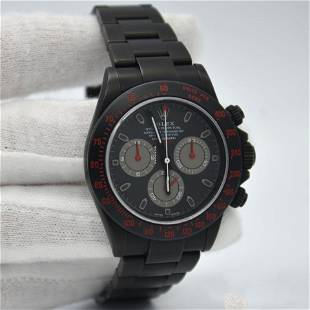Authentic Rolex Daytona Bamford Black PVD