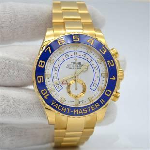 Authentic Rolex Yacht-Master II