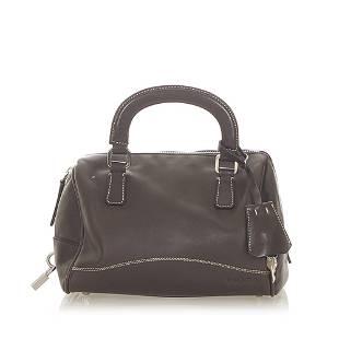 Authentic Prada Leather Handbag
