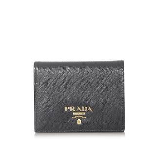 Authentic Prada Saffiano Bifold Wallet