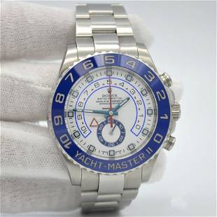 Authentic Rolex Yacht-Master II 44mm