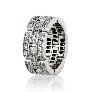 Authentic Cartier Maillon 18K White Gold 1.45cts
