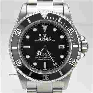 Authentic Rolex Sea-Dweller / Date / Stainless Steel /