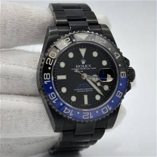 Authentic Rolex GMT-Master II 116710BLNR Bamford