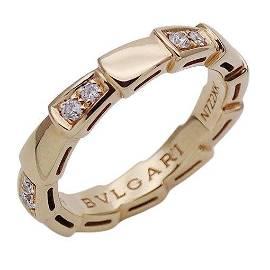 Authentic Bulgari BVLGARI Jewelry Diamond Serpenti
