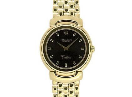 Authentic Rolex Cellini 6622/8 E number 1993 Quartz