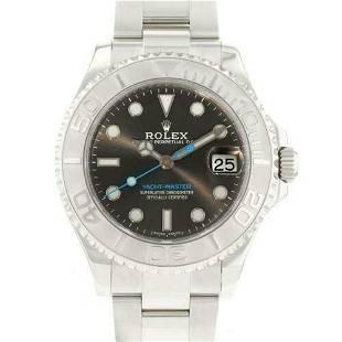 Authentic Rolex Yacht-Master Dark Rhodium 268622