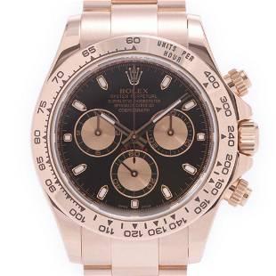 Authentic ROLEX Daytona 116505 Men's RG Watch Automatic