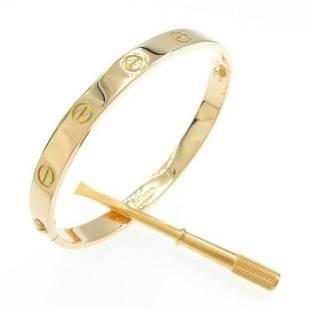 Authentic Cartier Love bracelet