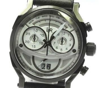 Authentic L & JR Step 1 Chronograph S1501 Quartz From