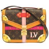 Authentic Louis Vuitton Monogram Pochette Metis Summer