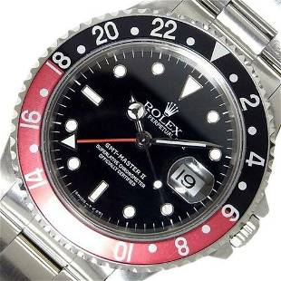Authentic Rolex GMT Master II 16710 Self-Winding