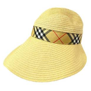 Authentic BURBERRY Gold Hat