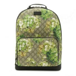 Authentic GUCCI GG Blooms Supreme Backpack Rucksack PVC