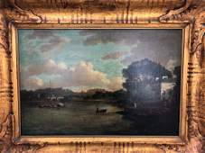 Richard Wilson Oil on Canvas