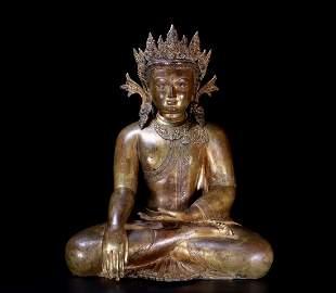 Treasure crown Buddha