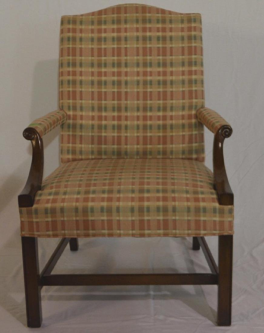 George III Style Library Chair