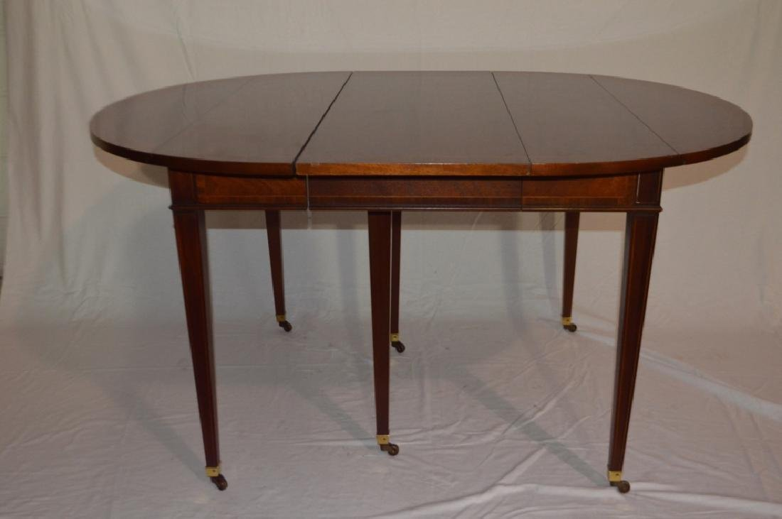 George III Style Mahogany Dining Table by Baker