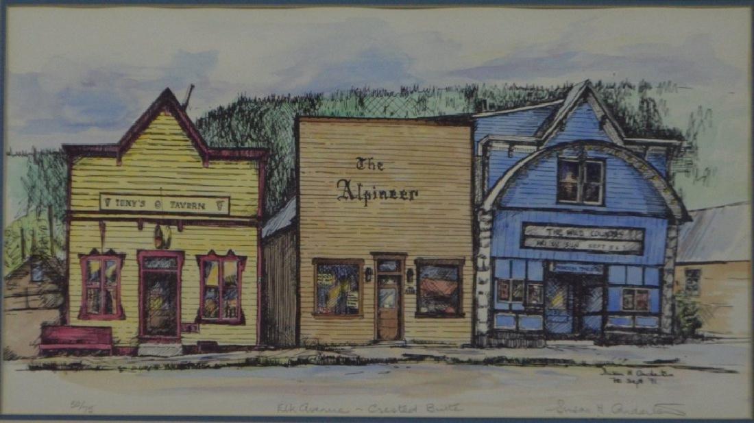Susan H Anderton, Elk  Avenue, Crested Butte, 1979