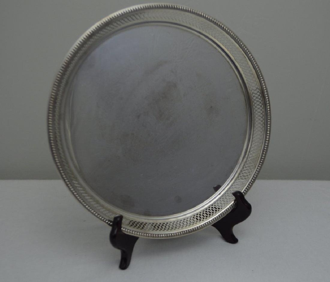 Wallace Sterling Circular Serving Tray