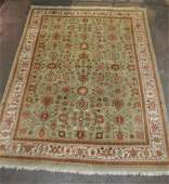 Handknotted IndoPersian Tabriz Wool Rug  85 x 12