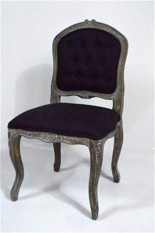 Pair of Louis XV Style Side Chairs by Safavieh