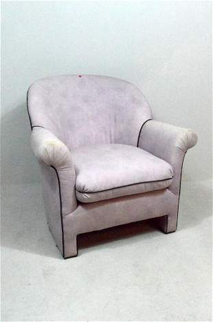 Lavender Modern Club Chair