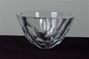 Signed Orrefors Crystal Bowl