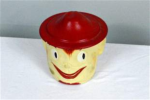 "Robinson Ransbottom ""Oscar"" Ceramic Jar with Lid"
