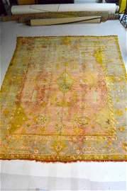 """Hand-Knotted  Anatolia Konya Wool Rug 13.5"""" x 11.25"""""""