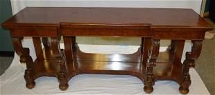 Regency Style Mahogany Pier Table