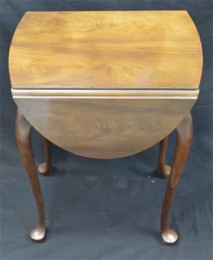 Queen Anne Style Pembroke Table, by Baker