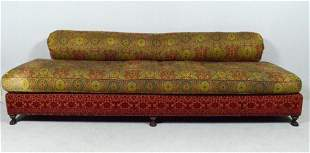 Long Moroccan Style Upholstered Bench by Porta Bella