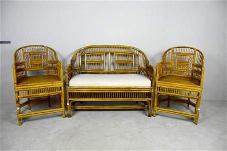 Brighton Pavilion Style Bamboo Parlor Suite